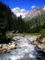 Юнгфрау – одна из самых известных горных вершин Швейцарии (Фото: ckchiu, Shutterstock)