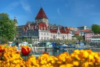 Лозанна славится своим целебным воздухом и уникальным климатом (Фото: Lazar Mihai-Bogdan, Shutterstock)
