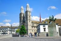 Гроссмюнстер – крупнейший собор в Цюрихе (Фото: bestimagesevercom, Shutterstock)