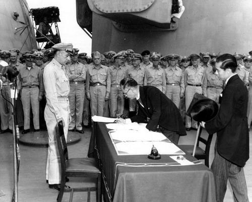 День воинской славы День окончания Второй мировой войны  Международно правовое основание для установления этого праздника подписание Акта о капитуляции Японии