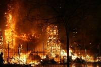 Годовой труд десятков людей сгорает за несколько часов... (Фото: Lola, Shutterstock)