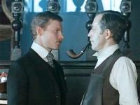 Кадр из кинофильма «Приключения Шерлока Холмса и доктора Ватсона»