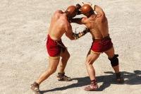 Представления в честь праздника дает и римская школа гладиаторов (Фото: nito, Shutterstock)