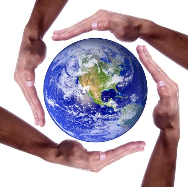 ... необходимо содействовать гармонии с природой и планетой Земля... (Фото: Joel Calheiros, Shutterstock)