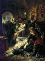 Константин Маковский «Убиение царя Федора»