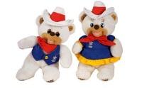Талисман XV зимних Игр - полярные медвежата «Хайди и Хоуди»