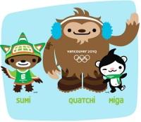 Талисманы XXI зимних Игр — Суми, Куачи и Мига
