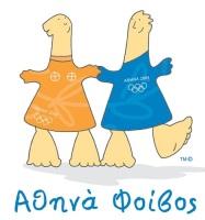 Талисманы XXVIII летней Олимпиады - Куклы Феб и Афина