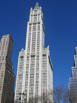 Woolworth Building (Фото: Wikipedia)