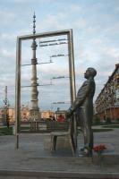 Памятник Никитину в Ишиме