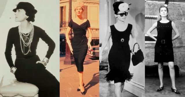 Первое маленькое черное платье