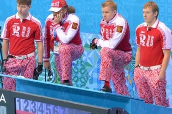 Вот он - мужской российский кёрлинг (Фото: РИА Новости)