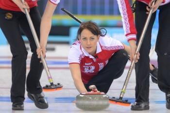 А это женский кёрлинг (Фото: РИА Новости)