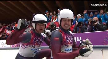 Братья Сикс - бронзовые призёры из Латвии (Фото: sochi2014.com)