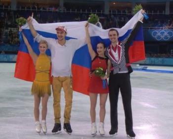 Российские чемпионы (Фото: sochi2014.com)