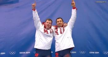 Александр Зубков и Алексей Воевода - олимпийские чемпионы! (Фото: sochi2014.com)