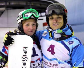 Алёна Заварзина и Вик Уайлд - семейная пара медалистов! (Фото: argumentiru.com)