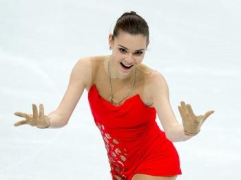 Российская фигуристка Аделина Сотникова стала второй после короткой программы (Фото: rg.ru)