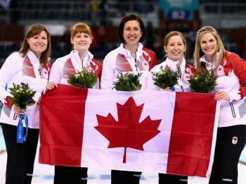 Олимпийскими чемпионками в кёрлинге стали канадки (Фото: sochi2014.com)