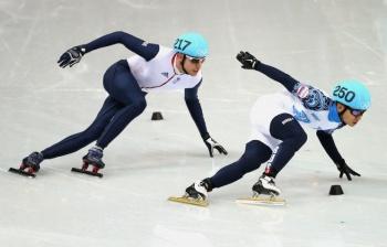 Виктор Ан - двукратный чемпион Сочинской Олимпиады (Фото: ИТАР-ТАСС)