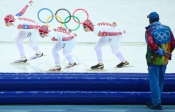 Россиянки опередили японок и завоевали бронзовую медаль! (Фото: ИТАР-ТАСС)