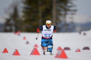 Роман Петушков принёс первое паралимпийское золото команде России! (Фото: photo-sochi2014.rsport.ru)