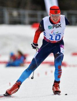 Владислав Лекомцев выиграл золотую медаль на короткой дистанции 7,5 км (Фото:photo-sochi2014.rsport.ru)