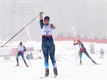 Паралимпийская чемпионка - россиянка Анна Миленина (Фото: www.sochi2014.com)