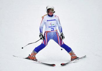 Александра Францева - золотая медалистка в супер-комбинации (Фото: РИА Новости)