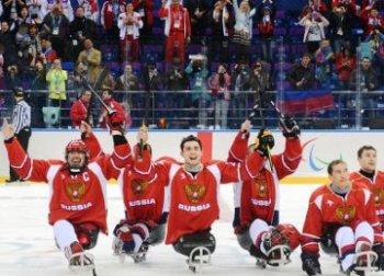 Сборная России по следж-хоккею стала серебряным призером Паралимпиады (Фото: news.sportbox.ru)