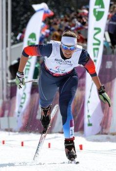 Анна Миленина - золотая медалистка в лыжной гонке на 5 км (Фото: РИА Новости)