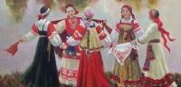 В народных традициях основными участниками этого праздника были девушки