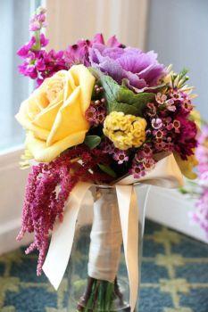"""Букет невесты """"Джаст-Фьюжен"""" (Фото: цветаевадизайн.рф)"""