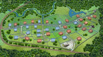 Генеральный план застройки коттеджного поселка на Щелковском (Горьковском) шоссе «Тихие Зори»