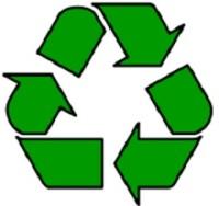 Международный символ вторичной переработки — лента Мёбиуса
