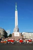 В День независимости в стране проходит множество праздничных мероприятий (Фото: Vladimirs Koskins, Shutterstock)