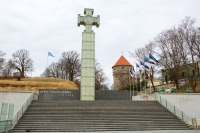 Монумент победы в Освободительной войне, Таллин (Фото: Andrei Nekrassov, Shutterstock)