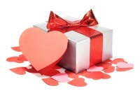 "On Valentine's Day, decided to give each other gifts and ""Valentine"" (Photo: Lu Mikhaylova, Shutterstock)"