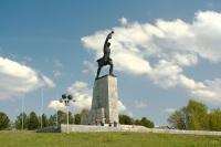 Монумент «Героям битвы под Москвой» на Перемиловской высоте (Фото: wikipedia.org)