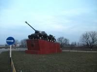 Танк ИС-3 — памятник воинам 52-й танковой бригады, защитникам города Малгобек (Фото: wikipedia.org)