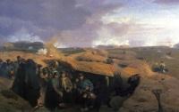 Битва при Дюббеле, картина Йоргена Сонне (1871)