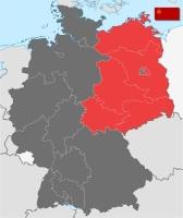Место дислокации частей Группы войск - Советская зона оккупации Германии, с 1949 года - ГДР (Фото: wikipedia.org)