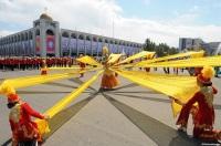 В Бишкеке праздничные мероприятия начинаются на центральной площади Ала-Тоо