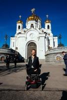 В 2015 году Ник Вуйчич впервые посетил Россию