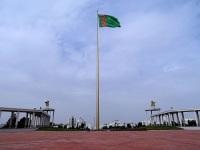 Главный флаг Туркменистана в Ашхабаде (Фото: wikipedia.org)
