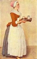 «Шоколадница», 1744