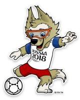 Волк Забивака – официальный талисман турнира 2018 года