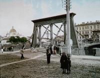 Египетский мост в 1896 году (Фото: wikipedia.org)