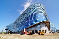 Прибрежный кластер «Олимпийский парк»: Дворец зимнего спорта «Айсберг»