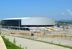 Прибрежный кластер «Олимпийский парк»: Керлинговый центр «Ледяной куб»